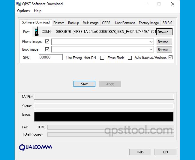 QPST Tool v2.7.264